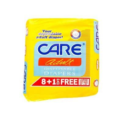 Care Adult Diaper L 6/8+1'S-P