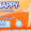 Happy Diaper M 4/30+4'S-P