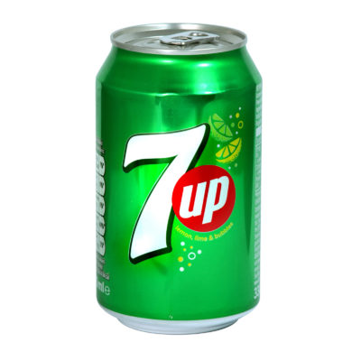 7-UP Reg In Can 330ML