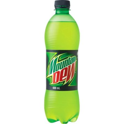 Mountain Dew Pet Bottle 600ml