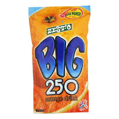 Big 250 Juice Orange 250ml
