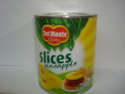 DM Pineapple Sliced 822g