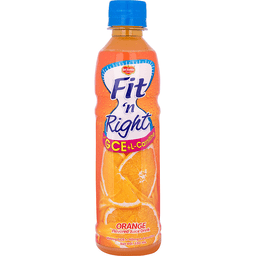 Del Monte Fit & Right Orange Juice Drink 330ml
