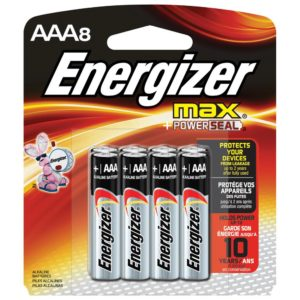 ENERGIZER BATTERY AAA