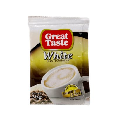 Great Taste 3-in-1 White Coffee 30g