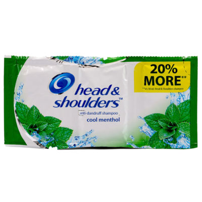 Head & Shoulders Cool Menthol Anti-Dandruff Shampoo 12ml