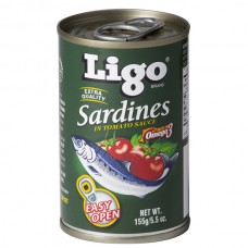 LIGO SARDINES GREEN EASY OPEN 155G