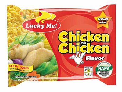 Lucky Me Instant Chicken Noodles 55g