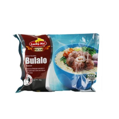 Lucky Me! Special Bulalo Flavor Instant Noodles 55g