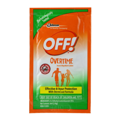 OFF! Overtime Insect Repellant Lotion 6ml