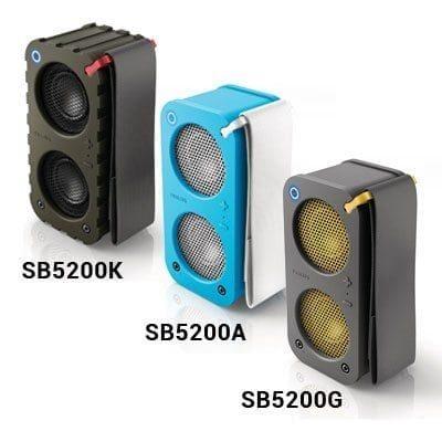 PHILIPS SB5200G/SB5200A/SB5200K WIRELESS PORTABLE SPEAKERS