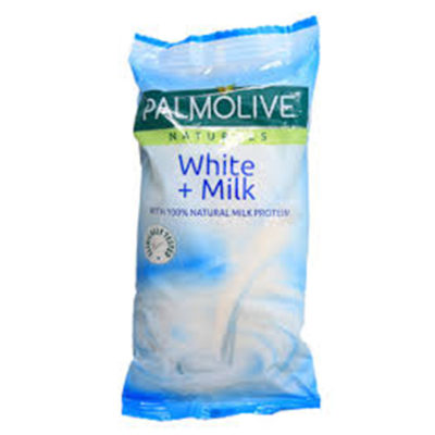 Palmolive Natural Soap White + Milk 55g
