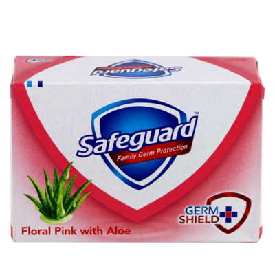 Safeguard Floral Pink with Aloe 60g