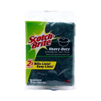 Scotch Brite Scrub Pad Trial