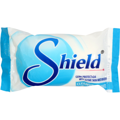 Shield Cleansing White Bath Soap 60g