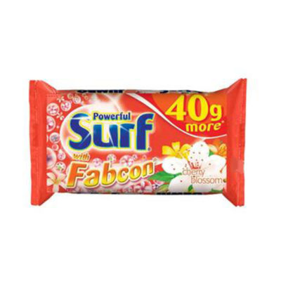 Surf Powerful Cherry Blossom with Fabcon Detergent Bar 130g