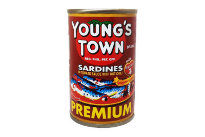 YOUNG'S TOWN SARDINES RED OC 155G