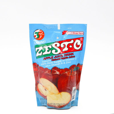 Zesto Apple Juice 200ml