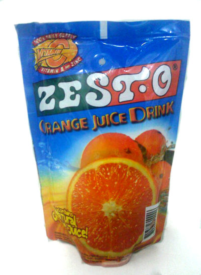 Zesto Orange Juice 200ml