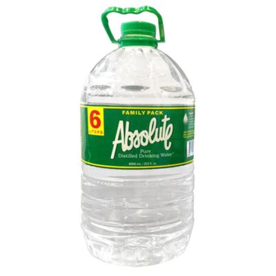 Absolute distilled water 3/6000ml