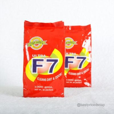 Ultra F7-cleans dirt and Odor Detergent Powder