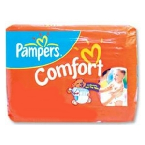 Pampers diaper comfort xl 12/4's